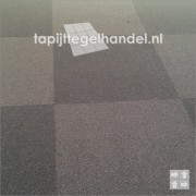 Desso Trapez 3921 diep blauwe tapijttegels 50x50 cm