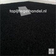 Tapijttegels in inktzwart van 50x50cm