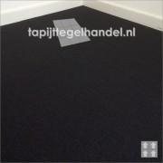 Uni tapijttegel zwart Vanda