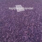 Prune paars tapijttegel