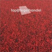 Modulyss Office 340 New Red rode tapijttegels 50x50