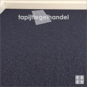 Modulyss Office 553 Imperial Blue blauw tapijttegels 50x50