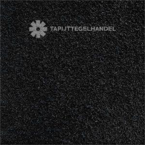 TTH Samba Inktzwart Hoogpolige Tapijttegels 50×50 Cm