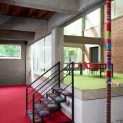 Modulyss color & 332 Fire Red tapijttegels 50x50 cm