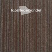 Vanda Lines 873 donkerbruine tapijttegel 50x50