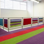 Modulyss color Lime tapijttegels 50x50 cm