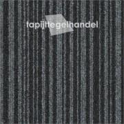 Vanda Lines zwart 879 tapijttegel 50x50cm