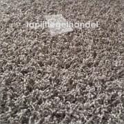 Samba choco hoogpolige tapijttegels 50x50 cm