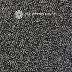 Donker grijze tapijttegel 50x50 cm bouclé Arena