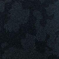 Tapijttegel TTH Leaves Zwart Blauw 1
