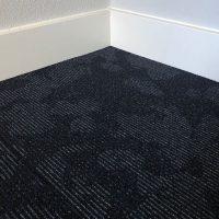 Tapijttegel TTH Leaves Zwart Blauw 2