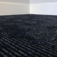 Tapijttegel TTH Leaves Zwart Blauw 3