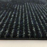 Tapijttegel TTH Leaves Zwart Blauw 4