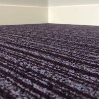 Tapijttegel TTH Purple Line Paars Soundmaster 3