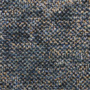 Partij 4 Flores 8833 Blauw Tapijttegel 1