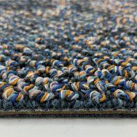 Partij 4 Flores 8833 Blauw Tapijttegel 3