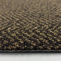 Object Carpet Fishbone 703 Brown Tapijttegel 3