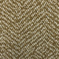 Object Carpet Fishbone 704 Sand Tapijttegel 2