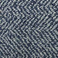 Object Carpet Fishbone 706 Blauw Tapijttegel 2