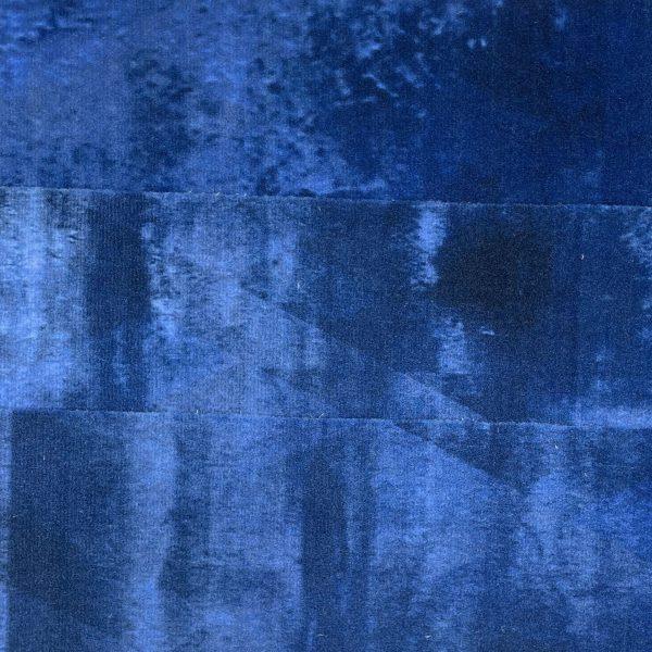 Partij 62 Blauwe Plank Tapijttegels 1