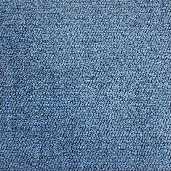 Partij 71 - Nylrips blauwe tapijttegel