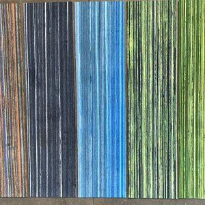 Partij 74 Stripe Mix Plank Tapijttegels